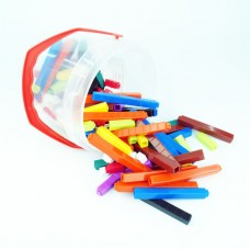 Connecting Cuisenaire Rods , Set of 155 pieces