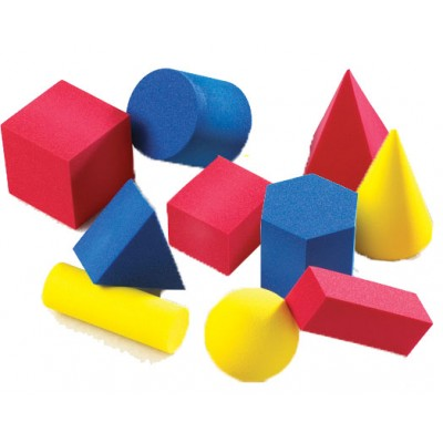 Soft Foam Large Geometric Shapes