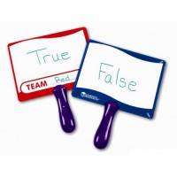 Write-on / Wipe-off Answer Boards, set of 10