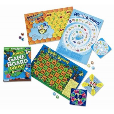 Phonics Game Board Book