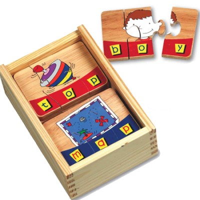 Three-Letter Word Puzzles