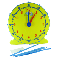 Elapse Time Teacher's Clock