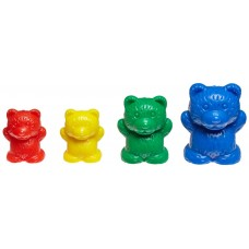 Three Bear Family Counters, Set of 96