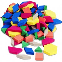 Soft-foam pattern block, Set of 250