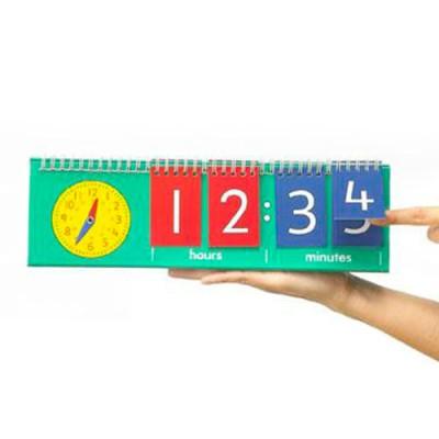 Tell Time Flip Chart (Student Set) (Set of 10)