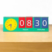 Tell Time Flip Chart (Teacher's Demostration set)