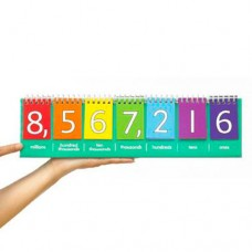 Place Value flip Chart (Millions) (Student Set) (Set of 10)