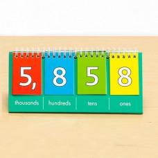 Place Value Flip Chart (Thousands)  (Teacher's Demonstration Set)