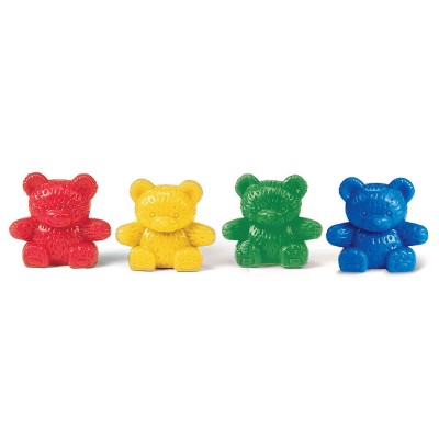 Four Color Baby Bear Counters, Set of 120
