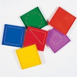 Double-Sided Rainbow Geoboards