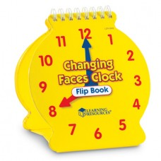 Student Changing Faces Clock Flip Book, Set of 5