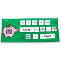 Money Tabletop Pocket Chart