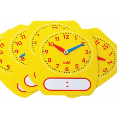 Write on Wife Off Clock, Set of 10