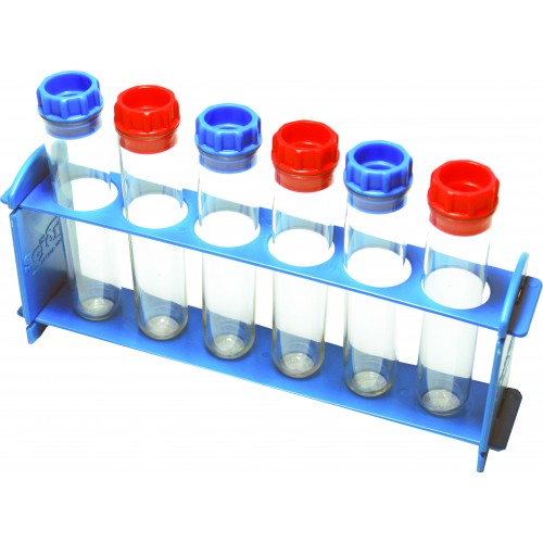 Large Test Tube with rack