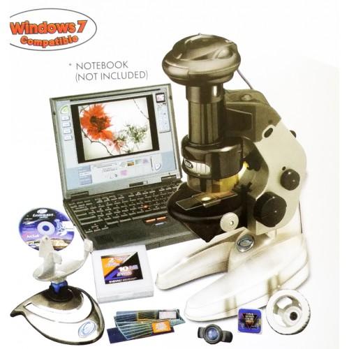 Digital 4-in-1 E-Mircoscope