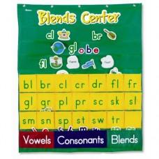 Blends Center Pocket Chart