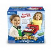 Pretend & Play® Calculator Cash Register (with U.S. Currency)