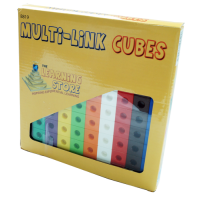 Multi - Link (Snap Link) Cubes , Set of 100pcs