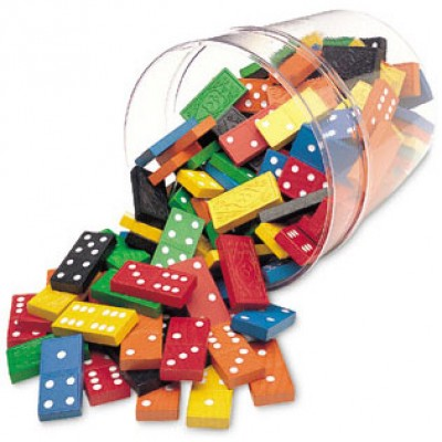Double-Six Dominoes in a Bucket