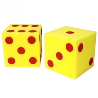 Giant Soft Dot Cubes, Set of 2