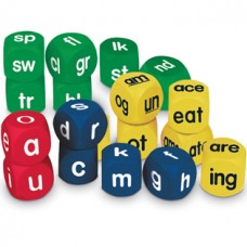Phonics Cubes Class Set, 3 Sets of 6 Cubes