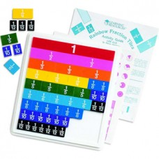 Rainbow Fraction® Plastic Tiles with Tray
