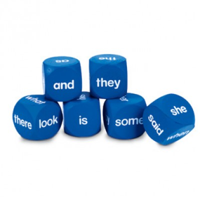 Sight Word Cubes (set of 6)