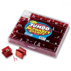 Jumbo Lowercase Alphabet Stamp Set