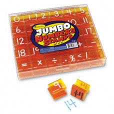Jumbo Numbers Stamps, Set of 33