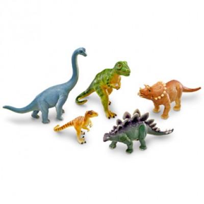 Jumbo Dinosaurs, Set of 5