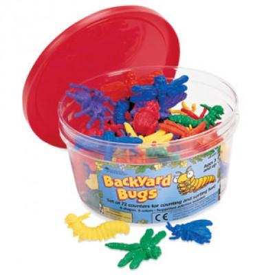 Backyard Bugs™, set of 144
