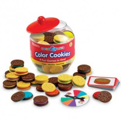 Goodie Games™ - Color Cookies, Set of 73