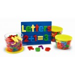 Jumbo Magnetic Letters & Numbers Combo Set, Set of 116