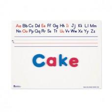 Magnetic Dry-Erase Alphabet Board, Set of 10