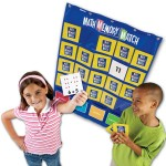 Math Memory Match Game