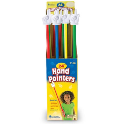 "24"" Hand Pointers, Set of 16"
