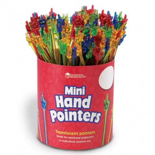 Mini Hand Pointers, Set of 100