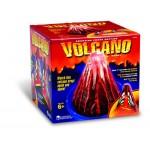 Erupting Cross-section Volcano Model
