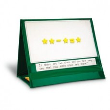 Write-On/ Wipe-Off Magnetic Demonstration Tabletop Pocket Chart