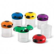 Big View Bug Jars, Set of 6