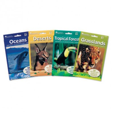 Animal Classifying Cards: Classifying Cards Combo Pack