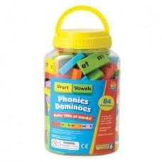 Short Vowel Phonics Dominoes