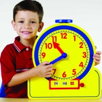 Primary Time Teacher™ 12-Hour Learning Clock®
