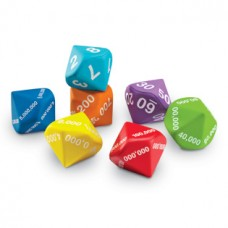 Place Value Foam Dice