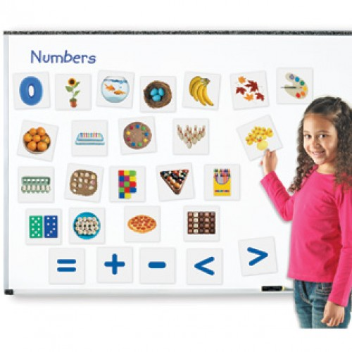 Double-Sided Magnetic Numbers, Set of 26
