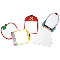 Themed Write & Wipe Boards, Set of 5