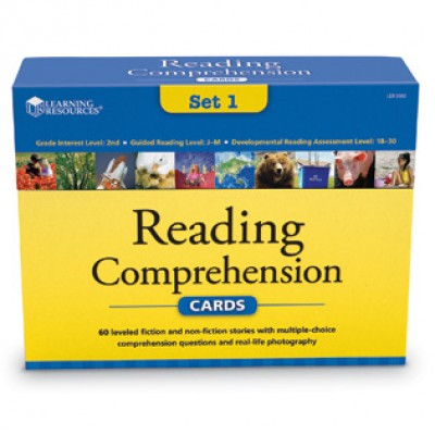 Reading Comprehension Card Sets - gr 2
