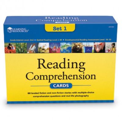 Reading Comprehension Card Sets - gr 2
