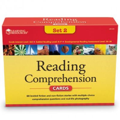 Reading Comprehension Card Sets - gr 3