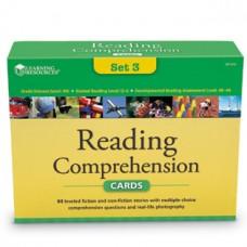 Reading Comprehension Card Sets - gr 4